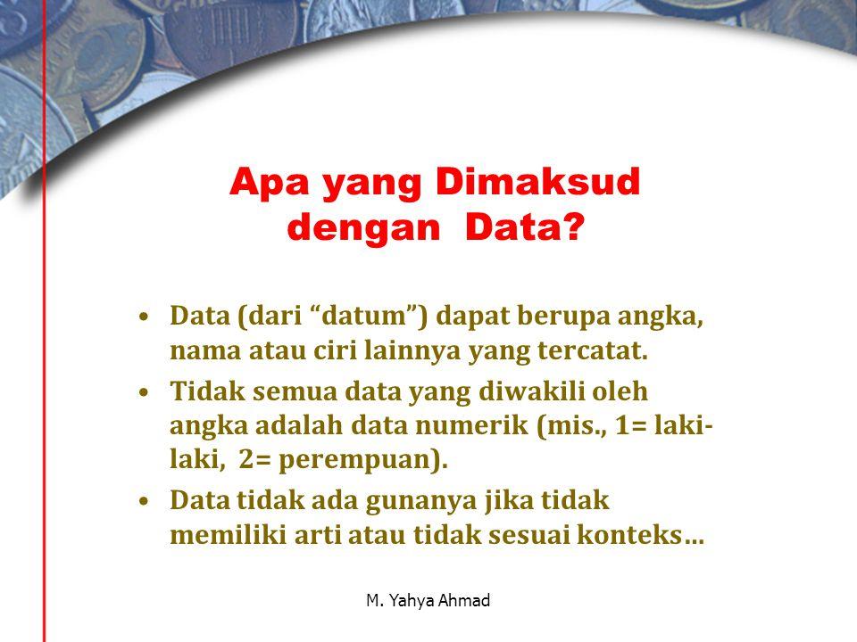 Apa yang Dimaksud dengan Data.