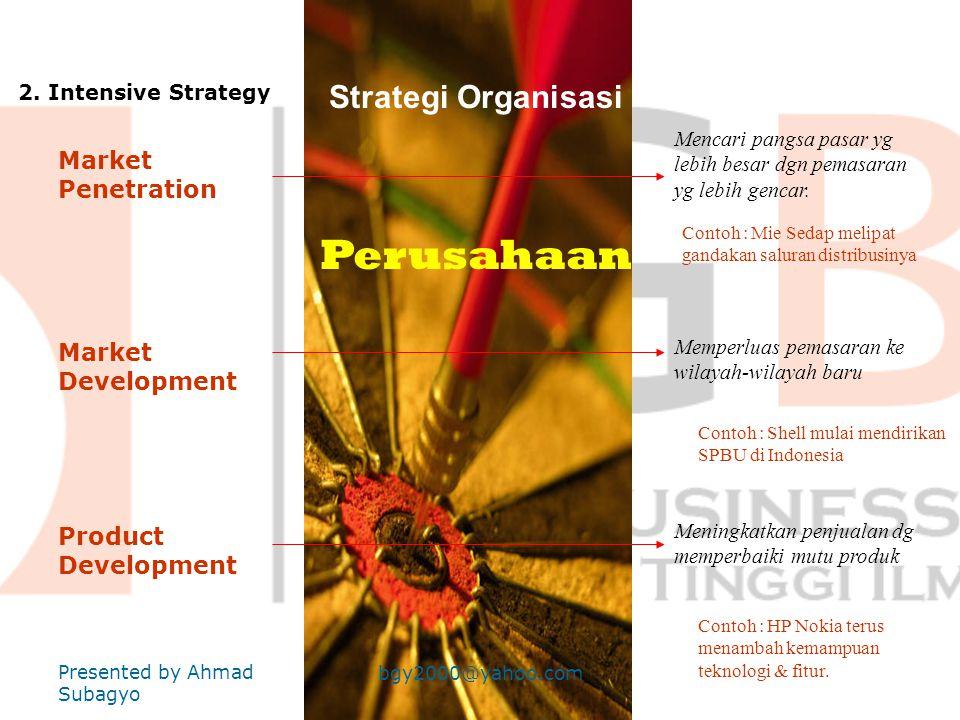 Strategi Organisasi Perusahaan 1.