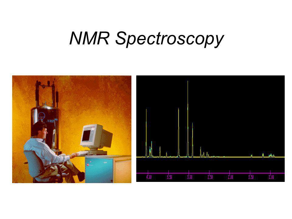 Proton NMR Fenomena NMR, pertama-tama diamati tahun 1946 dan diketahui bahwa inti tertentu dapat berperilaku sebagai batang magnit yang kecil. Seperti
