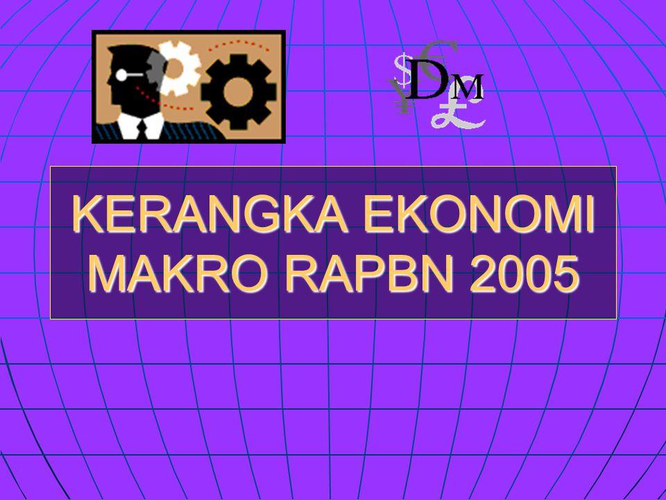 KERANGKA EKONOMI MAKRO RAPBN 2005