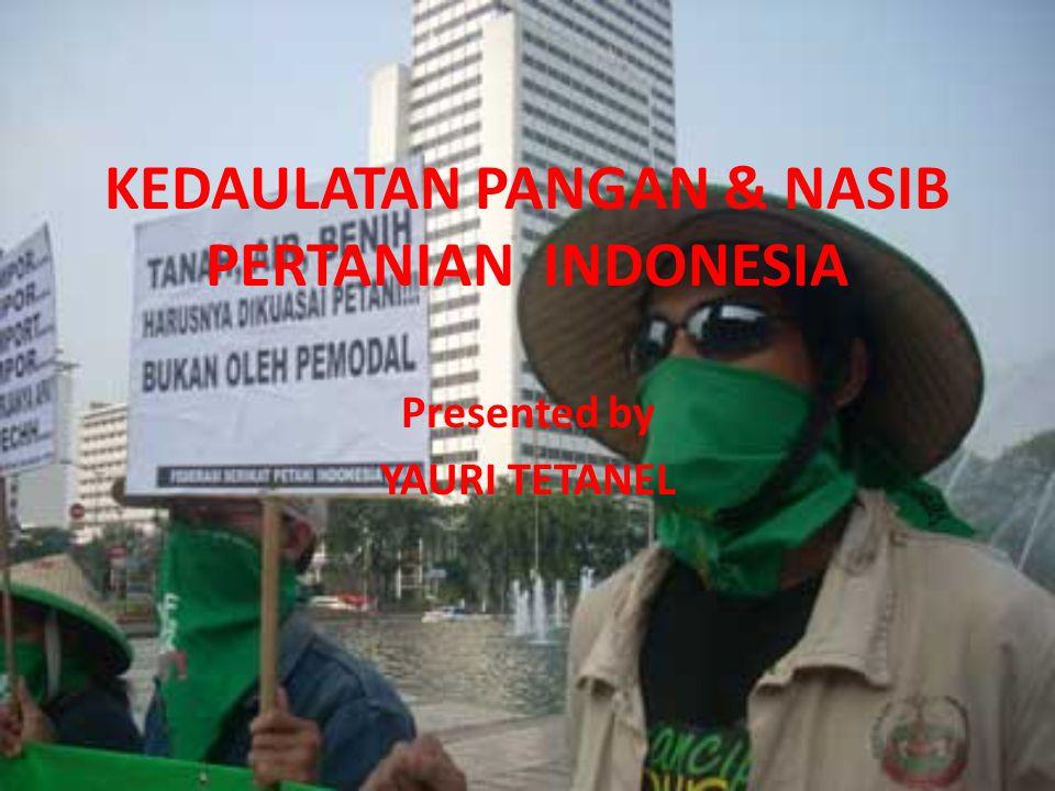 Bahaya kelaparan?...Di pulau Jawa yang subur dan kaya itu, bahaya kelaparan.