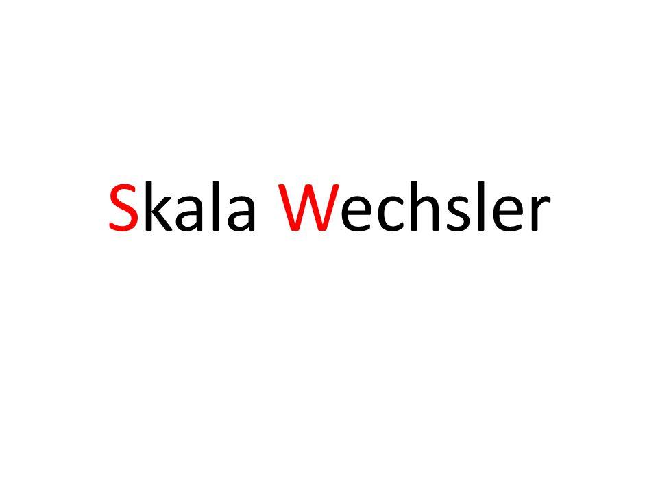 Skala Wechsler