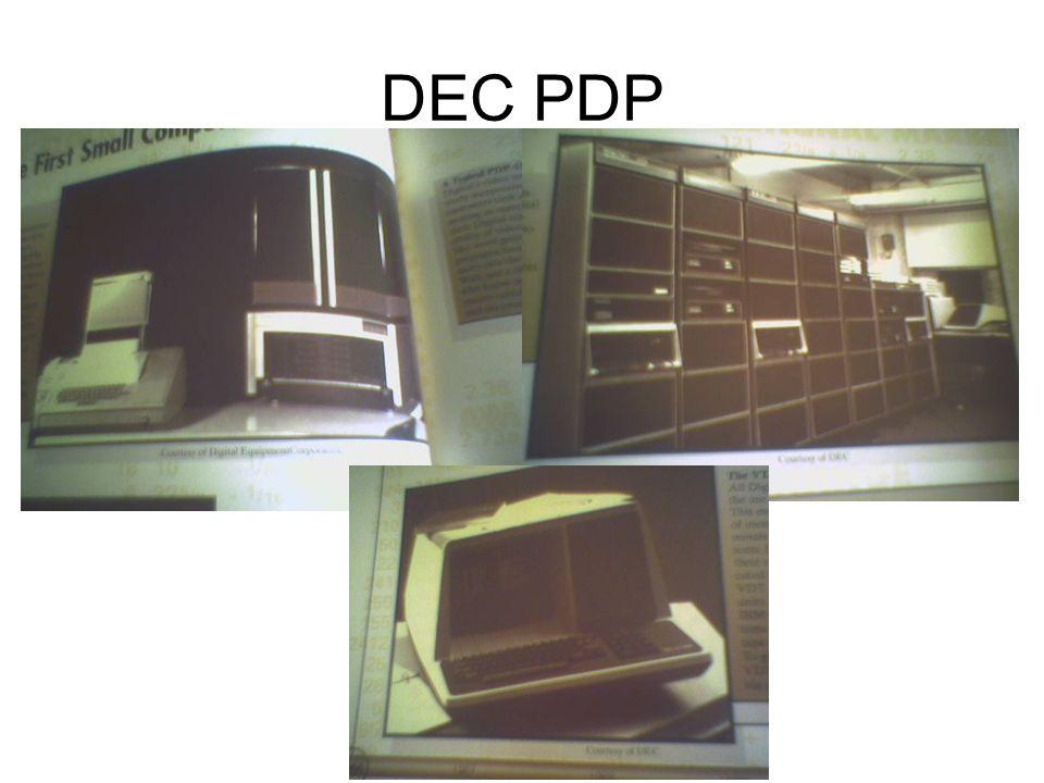 DEC PDP