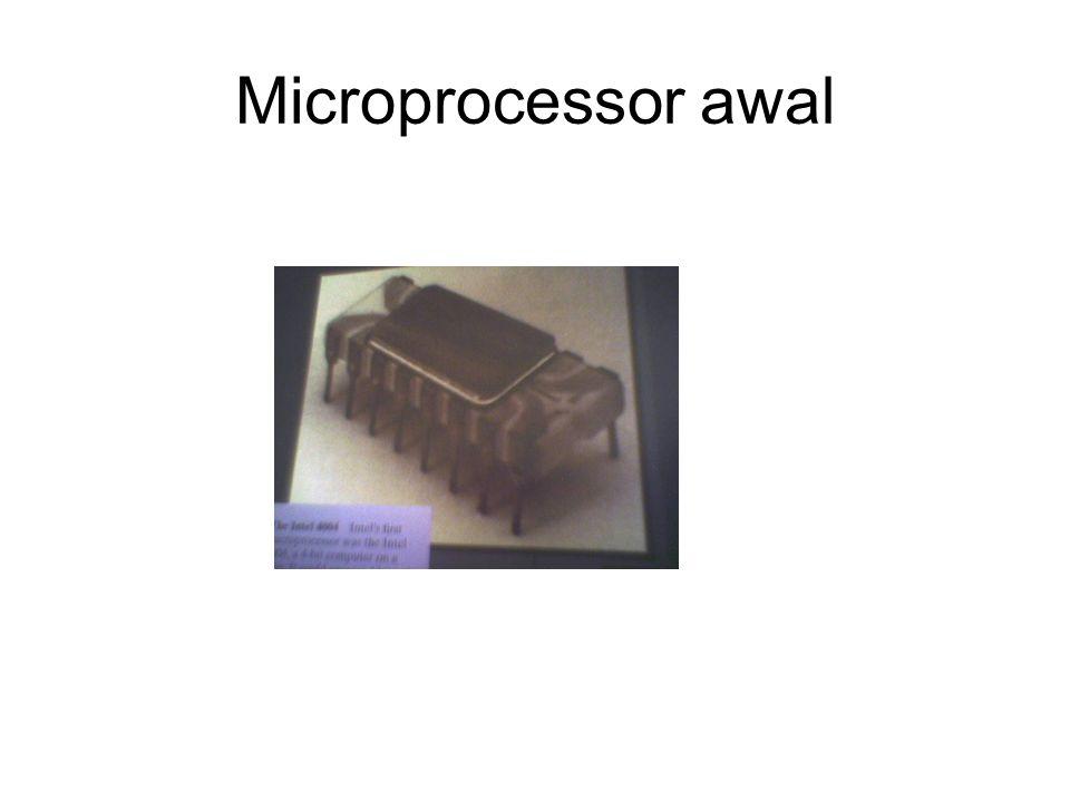 Microprocessor awal