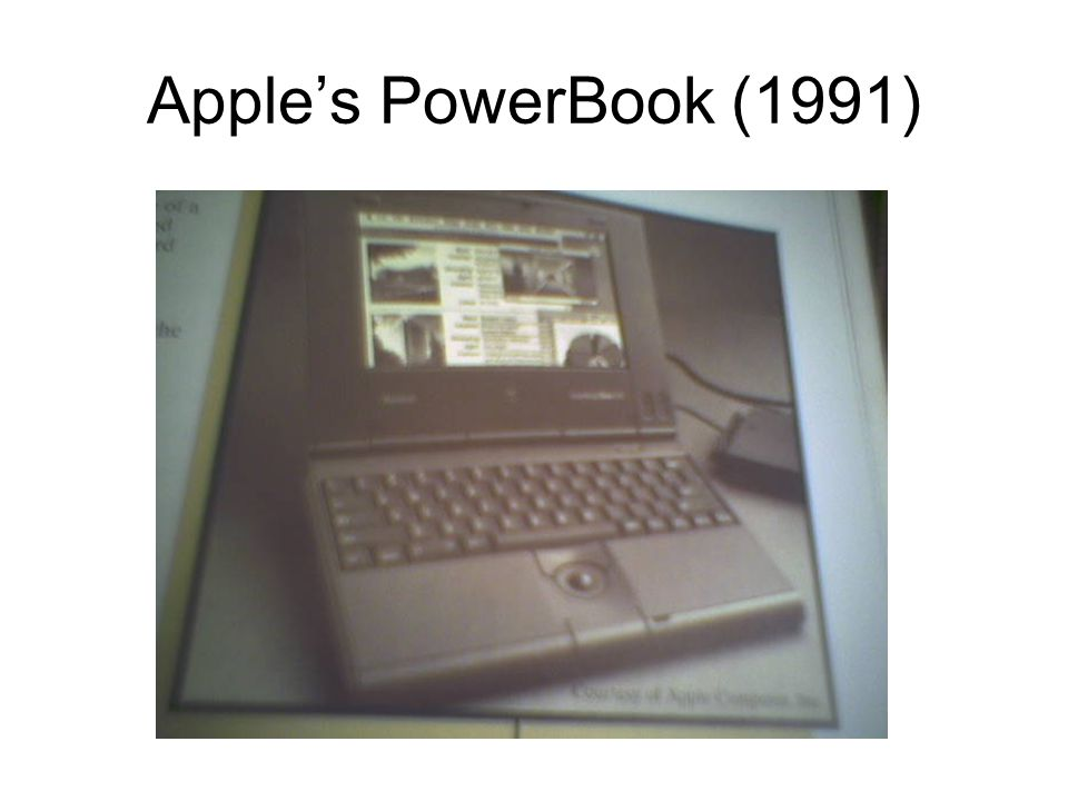 Apple's PowerBook (1991)