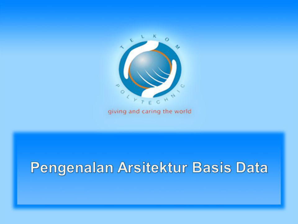 Database functionality Terbagi menjadi: • Back-end: mengatur struktur akses, evaluasi queri dan optimisasi, kontrol konkurensi dan recovery.
