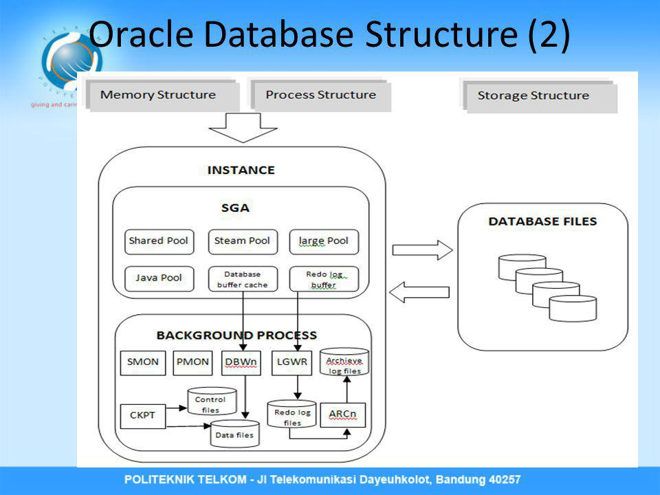 Oracle Database Structure (2)
