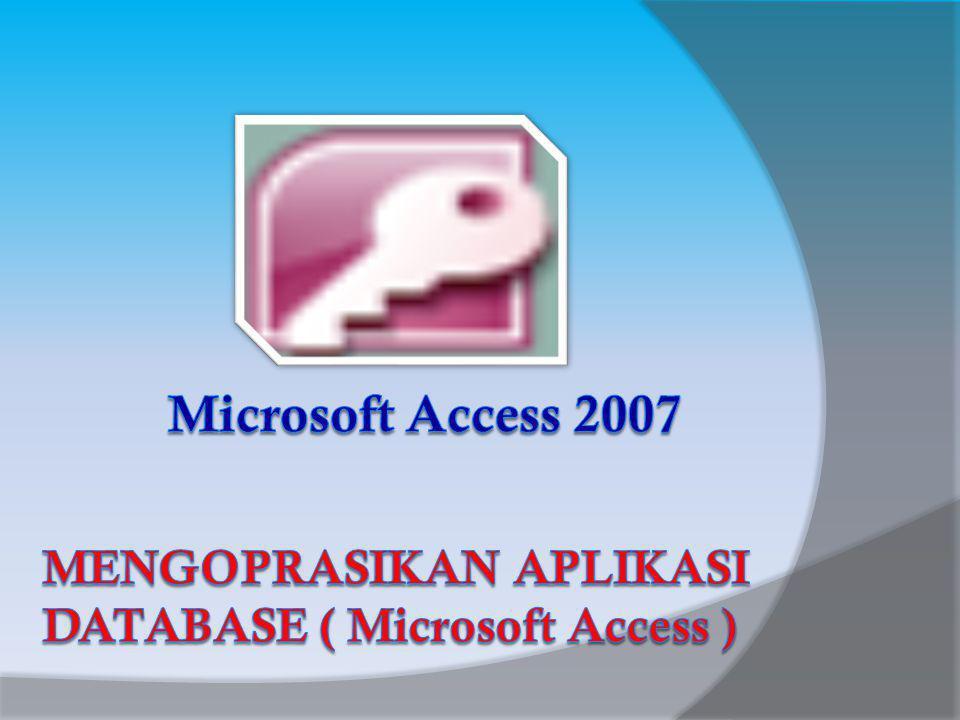 Konsep Basis Data Basis Data (Data Base) dapat dibayangkan sebagai sebuah lemari arsip.