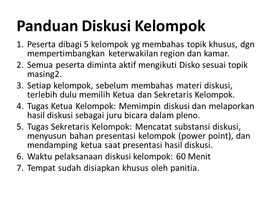 PEMBAGIAN KELOMPOK Pertemuan Nasional DGM - DKN Bogor, 27 Juni 2013