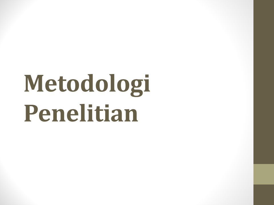 Pengambilan Data (2) • Instrumen ukur yang akan digunakan harus diuji terlebih dahulu untuk melihat reliabilitas dan validitasnya  perlu definisi operasional yang jelas dari variable yang akan diukur • Sampel: • Ukuran sampel disesuaikan dengan ukuran populasi • Penentuan sampel harus memperhatikan randomness  untuk menghindari error atau bias Kembali ke awal