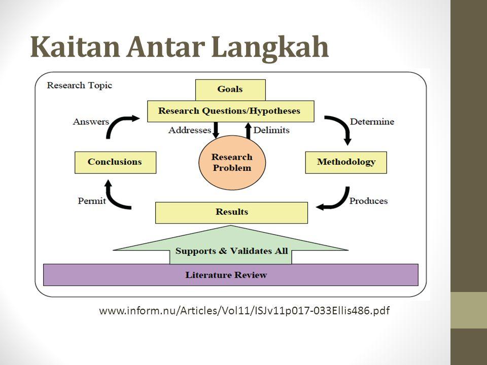 Kaitan Antar Langkah www.inform.nu/Articles/Vol11/ISJv11p017-033Ellis486.pdf