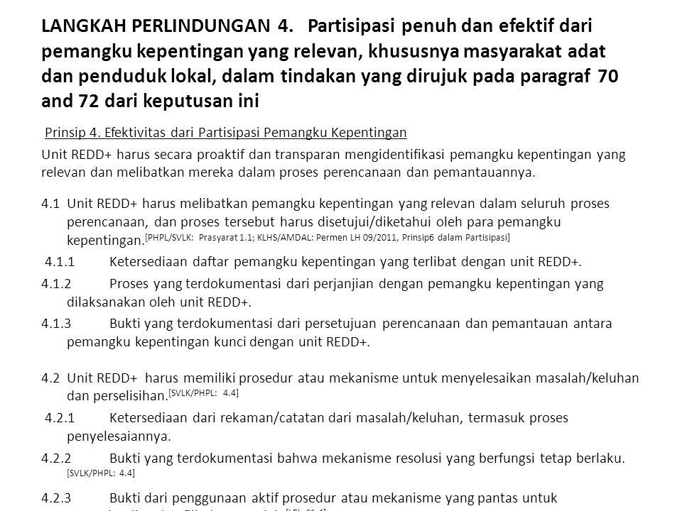 LANGKAH PERLINDUNGAN 5.