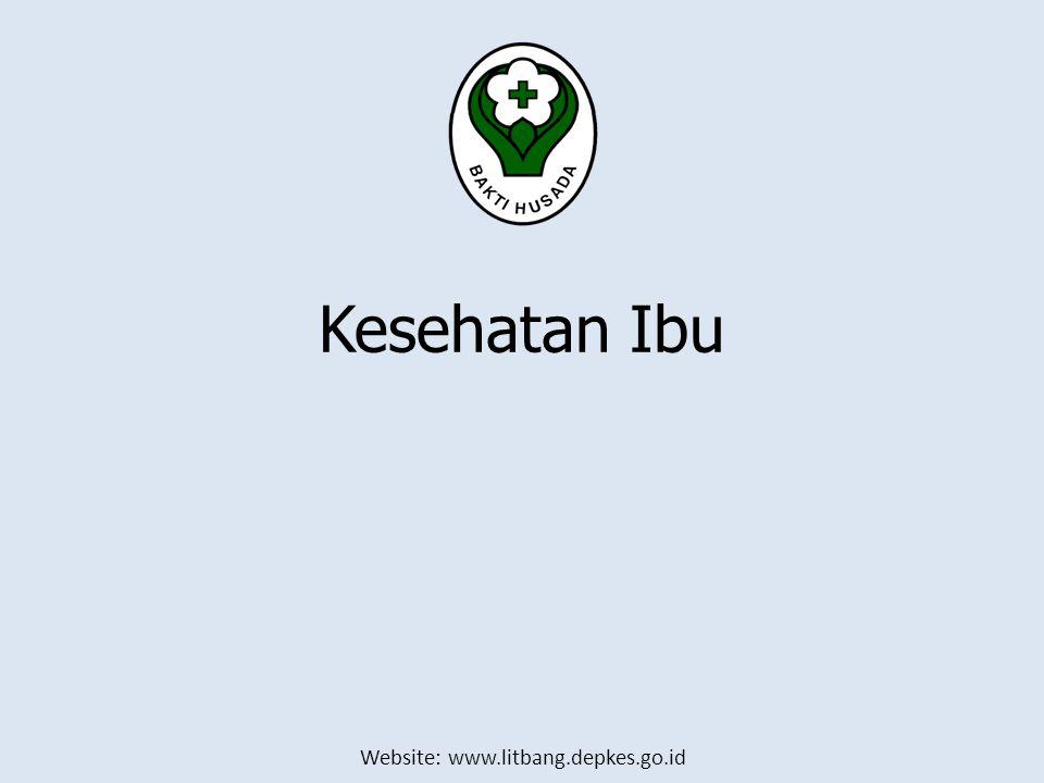 Website: www.litbang.depkes.go.id Kesehatan Ibu
