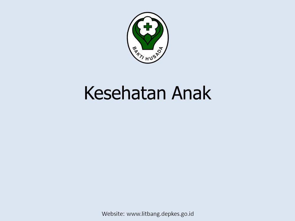 Website: www.litbang.depkes.go.id Kesehatan Anak