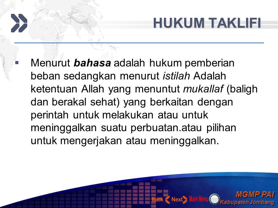 MGMP PAI Kabupaten Jombang MGMP PAI Kabupaten Jombang Your Text