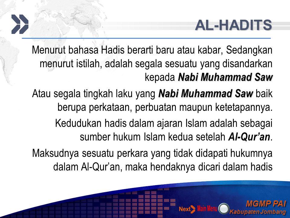 MGMP PAI Kabupaten Jombang MGMP PAI Kabupaten Jombang Your Text AL-QUR'AN FUNGSI AL-QUR'AN  Al-Qur'an sebagai pedoman hidup Ajaran-ajaran yang termua