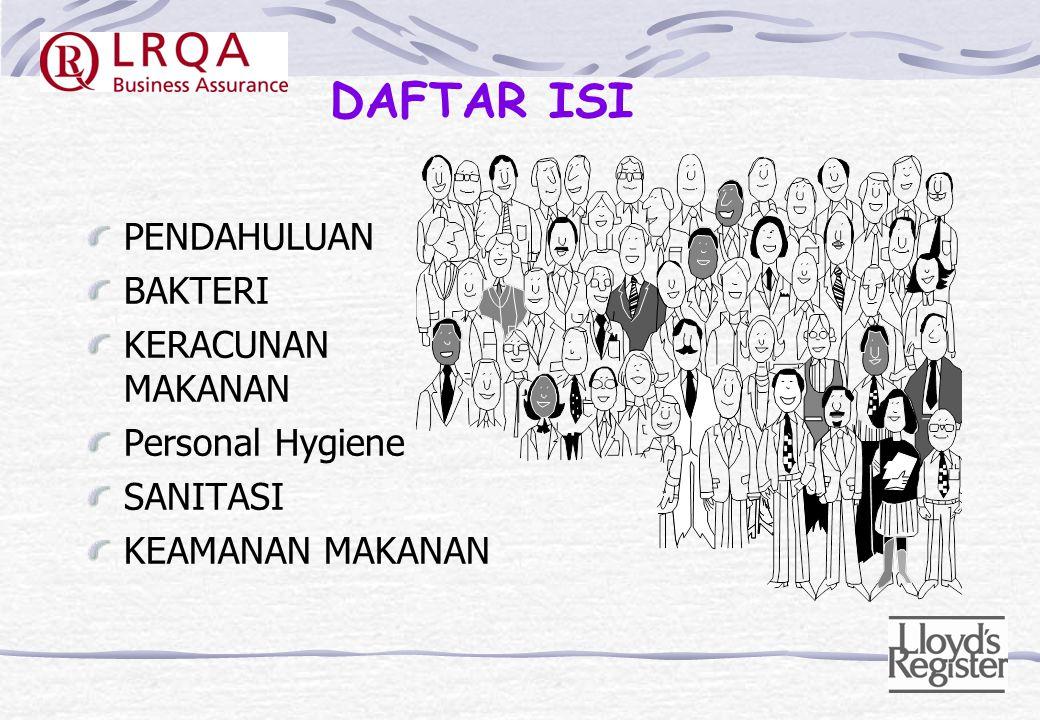 FOOD HYGIENE Oleh: M. Hatta Djamil QMS Assessor LRQA Indonesia