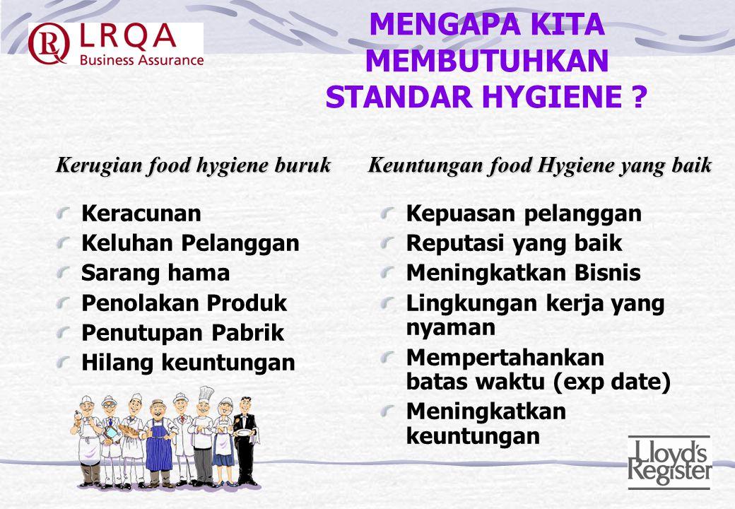 PENDAHULUAN Hey, Penanganan makanan, adalah suatu pekerjaan, bukan merupakan suatu tanggung jawab !