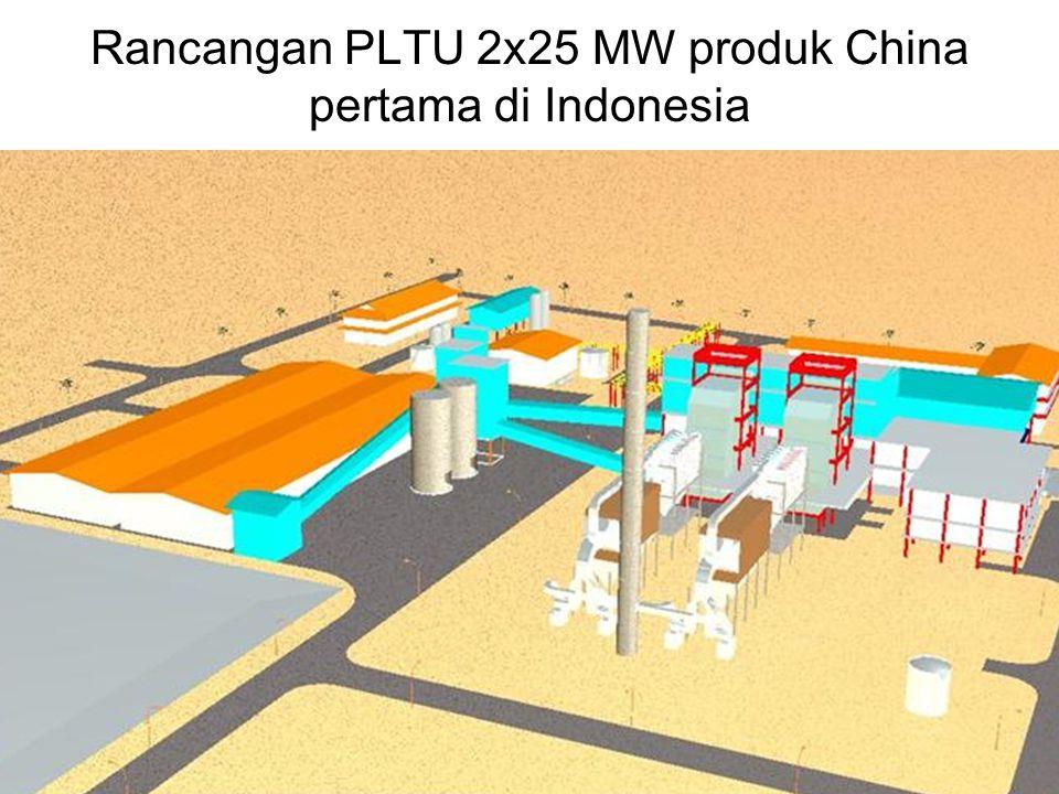7 PT Rekayasa Industri bersama Chengda membangun PLTU 2x25 MW untuk PT Semen Tonasa pada tahun 1993-1995 Kondisi pabrik beroperasi pada tahun 2005