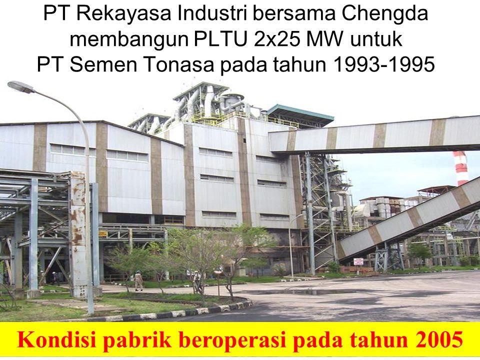 8 Rancangan pabrik semen China pertama yang dibangun di luar China