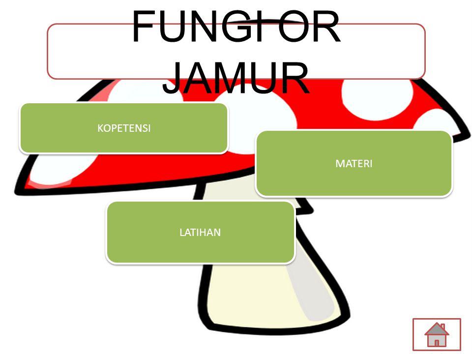 LATIHAN MATERI KOPETENSI FUNGI OR JAMUR
