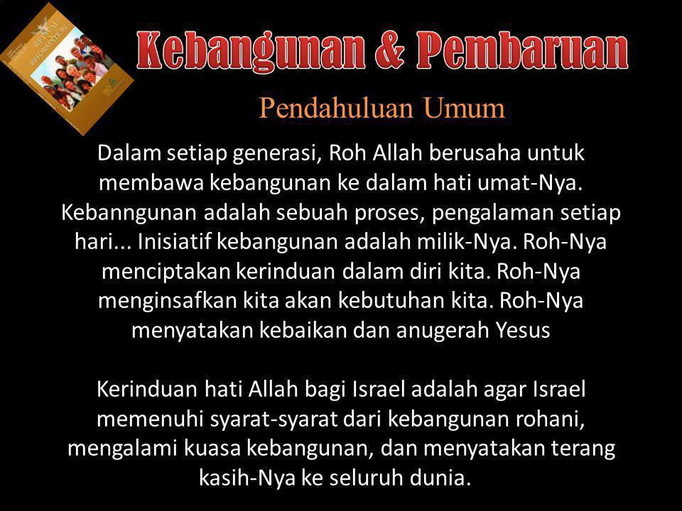 Understand the purposes of marriage Kebangunan: Kebutuhan Kita yang Besar 2.