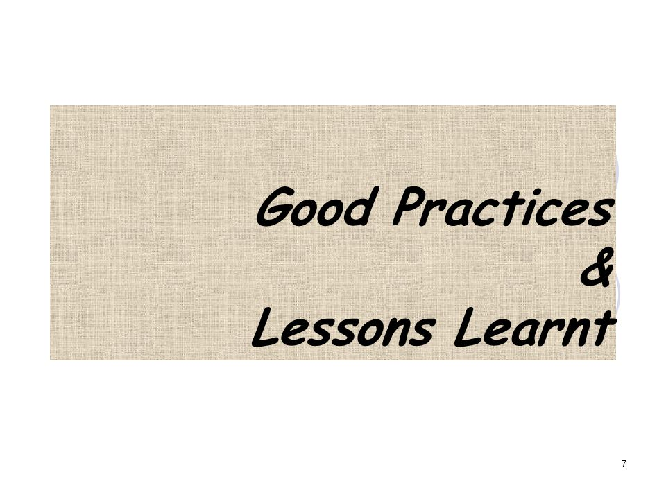 INSTITUSI/PROGRAM STUDI DAN ASESOR Good practices Lessons learnt Institusi/Program Studi Asesor 8