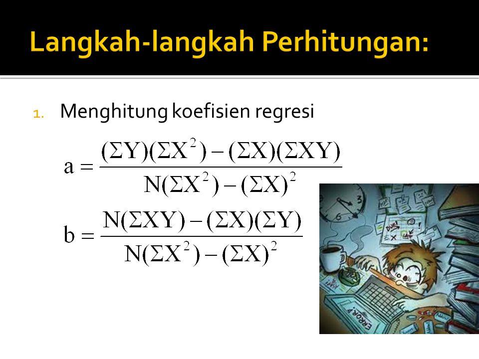 5. Menghitung Mkreg dan MKres MK reg MK res