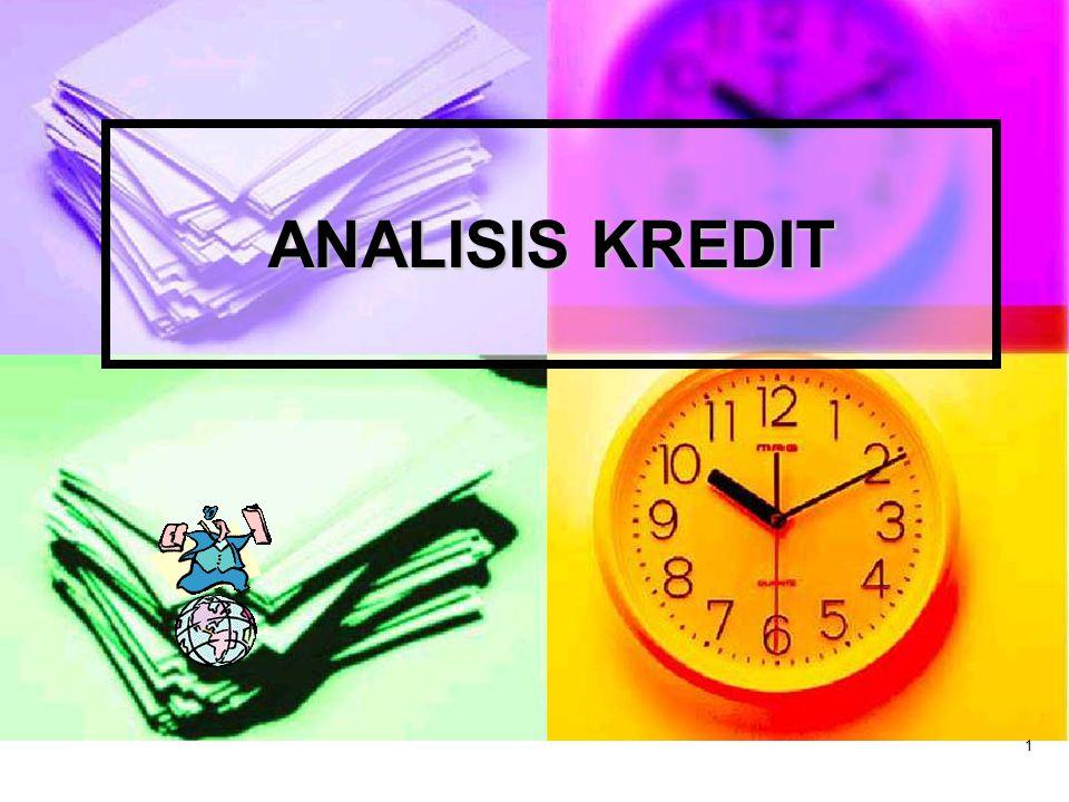 1 ANALISIS KREDIT