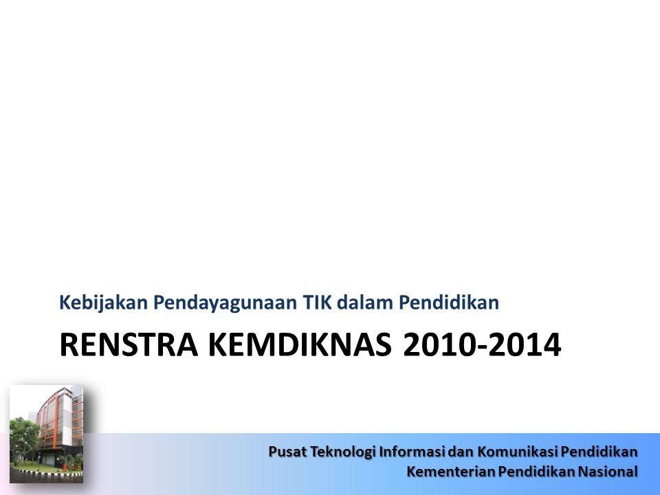 6/22/20144 Pusat Teknologi Informasi dan Komunikasi Pendidikan Kementerian Pendidikan Nasional 6/22/20144 Pusat Teknologi Informasi dan Komunikasi Pen