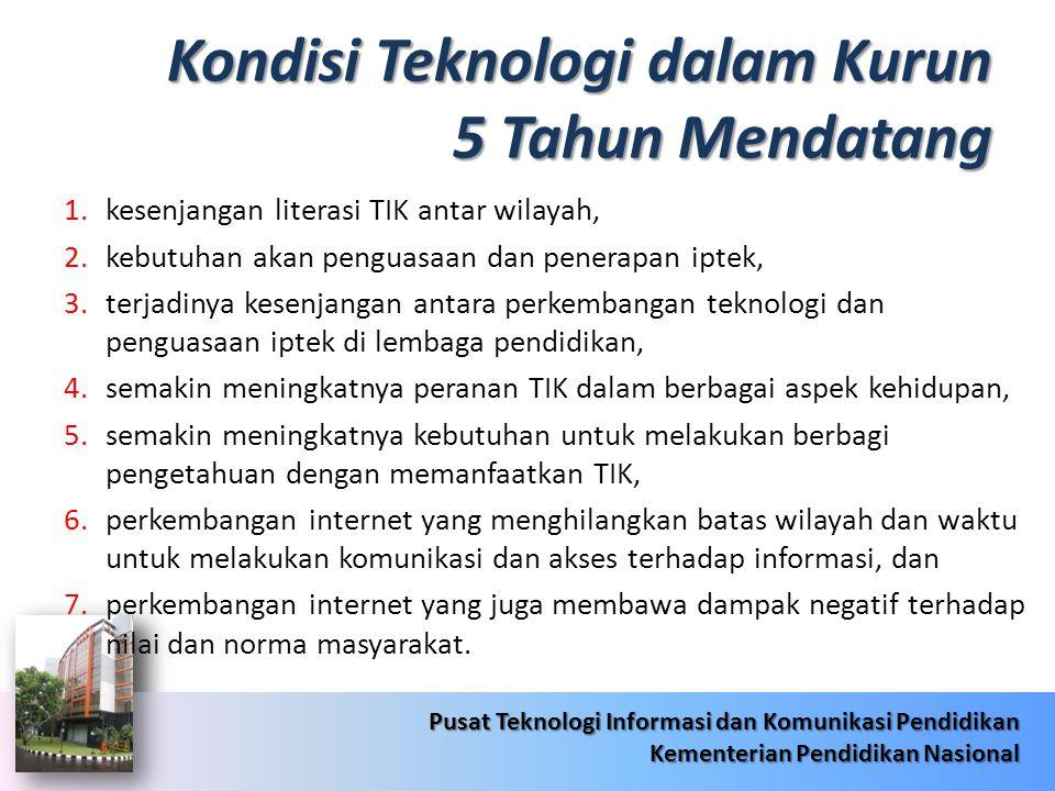 6/22/201416 Pusat Teknologi Informasi dan Komunikasi Pendidikan Kementerian Pendidikan Nasional 6/22/201416 Pusat Teknologi Informasi dan Komunikasi Pendidikan Kementerian Pendidikan Nasional Hal Strategis tentang Jardiknas  Penerapan TIK sebagai kebijakan Nasional pada seluruh Kementerian Republik Indonesia.