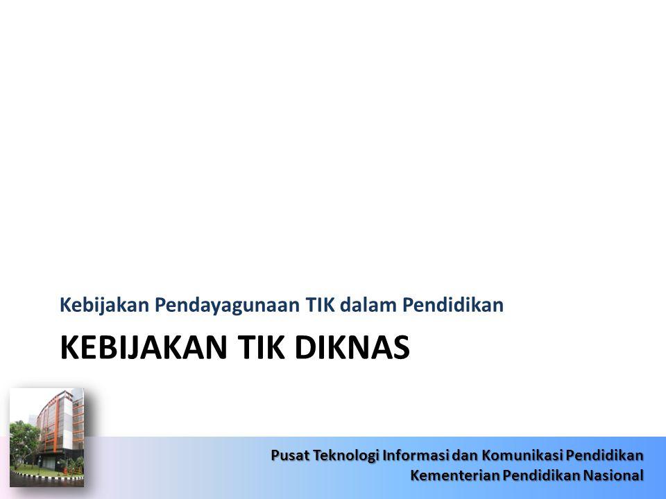 6/22/201430 Pusat Teknologi Informasi dan Komunikasi Pendidikan Kementerian Pendidikan Nasional 6/22/201430 Pusat Teknologi Informasi dan Komunikasi Pendidikan Kementerian Pendidikan Nasional Target Jardiknas 2014  Tersedianya akses terhadap internet/intranet dan bahan-bahan pembelajaran di 44.305 sekolah.