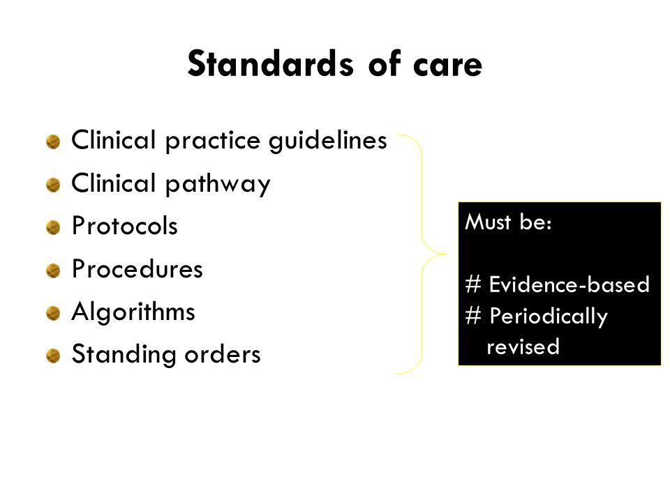Bagaimana dokter menerapkan standar pelayanan PPK harus diterapkan secara individual.