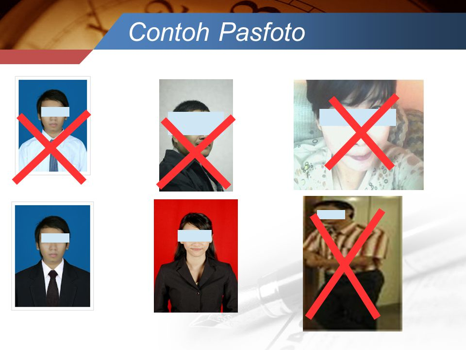 Contoh Pasfoto