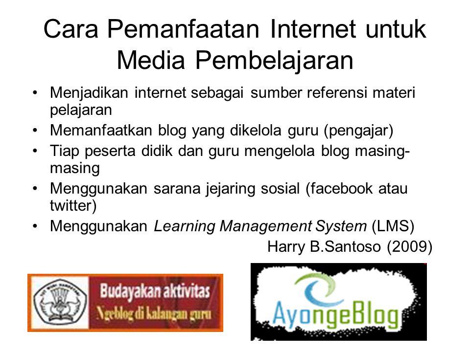 Contoh Mengadopsi dan mengembangkan •Menggunakan internet •Menggunakan cd pembelajaran