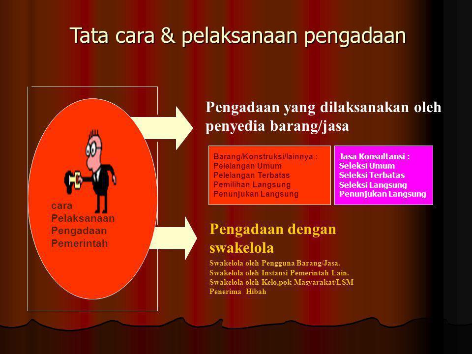 D e f I n I s i Prepres No. 54/2010, Bab I, pasal 1, ayat (1): Prepres No. 54/2010, Bab I, pasal 1, ayat (1) : Kegiatan untuk memperoleh Barang/Jasa o