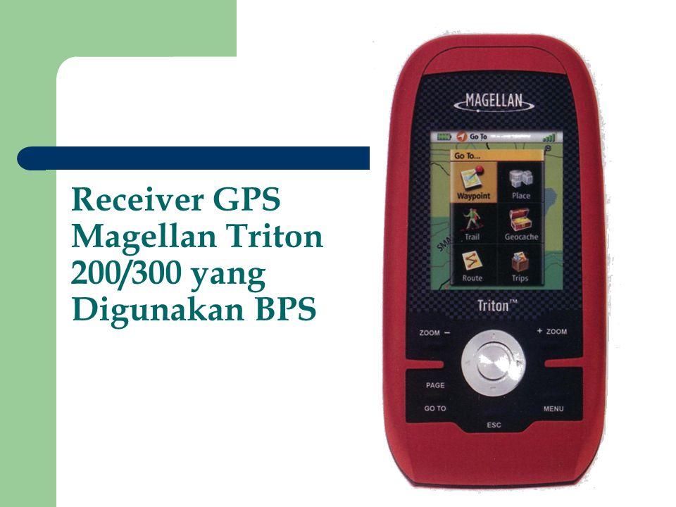 Receiver GPS Magellan Triton 200/300 yang Digunakan BPS