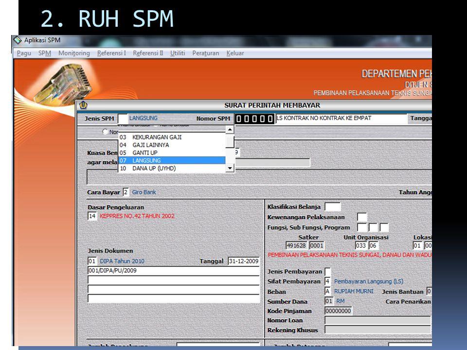 4.Jika keluar pesan spm-GU melebihi DU/TUP yang ada, artinya jumlah keseluruhan NILAI SPM-GU yang dibuat pada satu tanggal tersebut, sebagai pertanggungjawaban atas nomor spm UP yang dipilih lebih besar dari nilai SPM UP atau nilai sisa SPM UP.