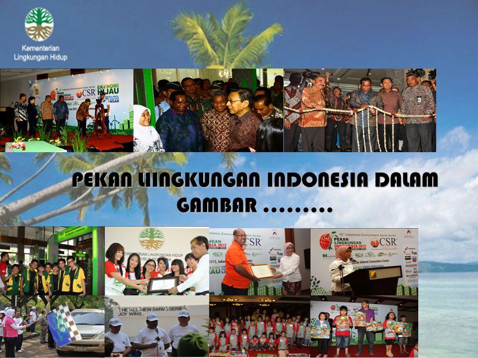 PEKAN LIINGKUNGAN INDONESIA DALAM GAMBAR.........
