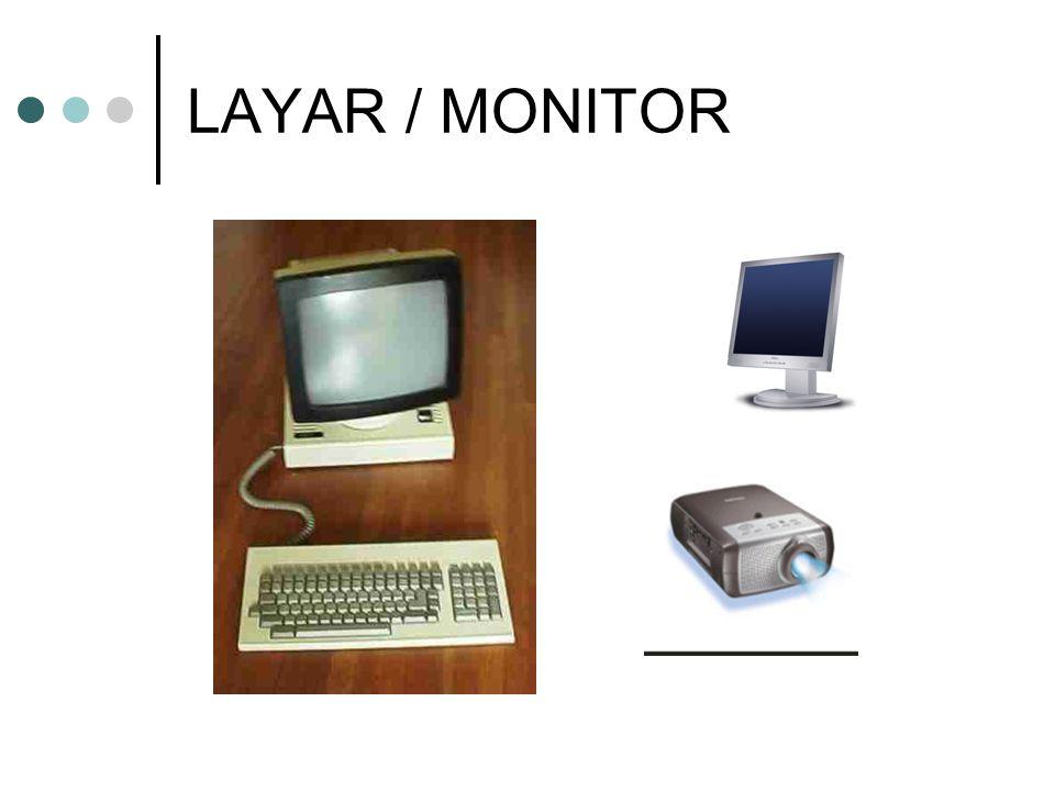 LAYAR / MONITOR