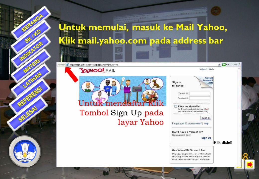 Internet Explorer •Address Bar: diisi dengan alamat website yang akan dituju, misal: www.kompas.co.id, www.psb- psma.org, dllwww.kompas.co.idwww.psb-