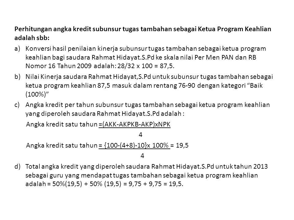 24 Jakarta, 4 Januari 2013 Pejabat PenilaiPegawai Negeri Sipil Yang Dinilai ( Subaryadi.