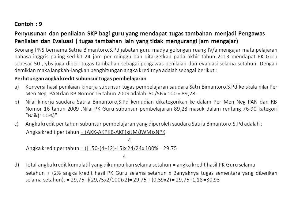 34 Jakarta, 4 Januari 2013 Pejabat PenilaiPegawai Negeri Sipil Yang Dinilai ( Subaryadi.