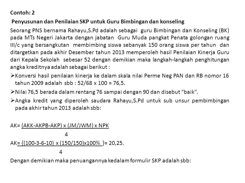 8 Jakarta, 4 Januari 2013 Pejabat PenilaiPegawai Negeri Sipil Yang Dinilai ( Sumartoyo,S.Pd.M.Pd)(Rahayu,S.Pd) NIP.