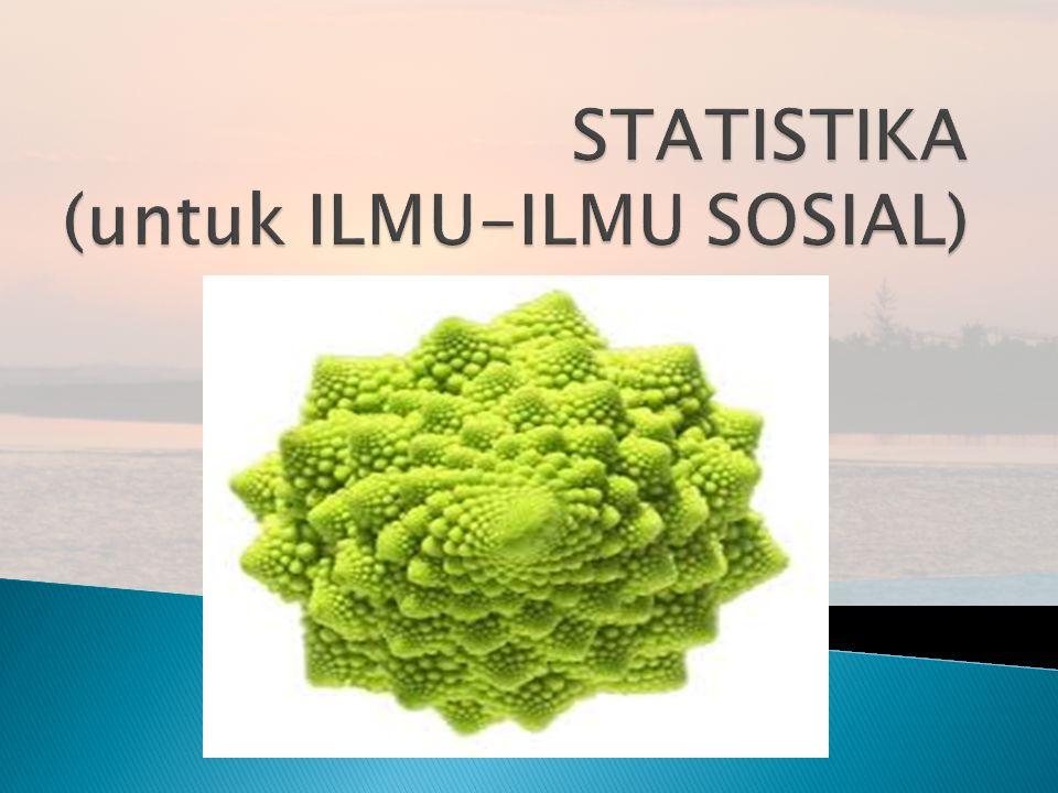  1.Alat untuk menghitung besarnya anggota sampel yang diambil dari suatu populasi.