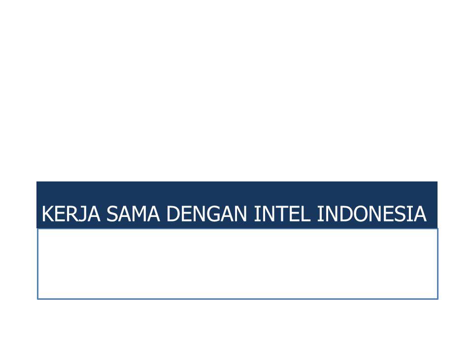 KERJA SAMA DENGAN INTEL INDONESIA