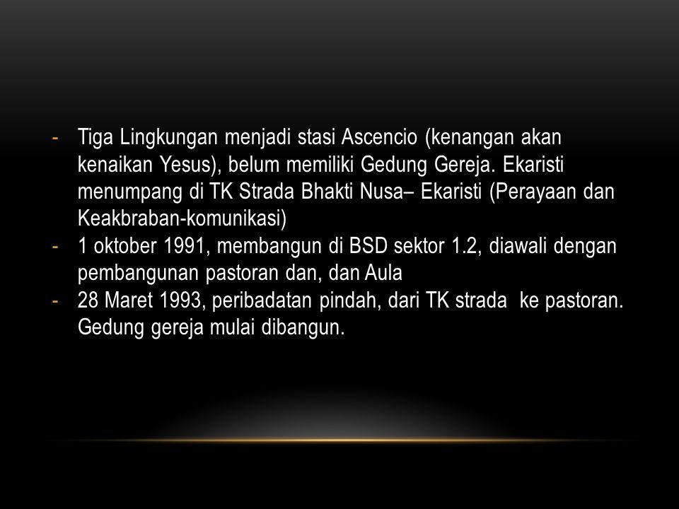 • Dekrit Keuskupan Agung Jakarta No.
