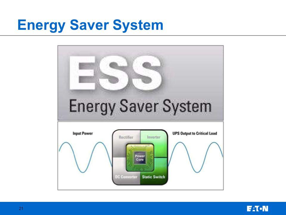 Energy Saver System 21