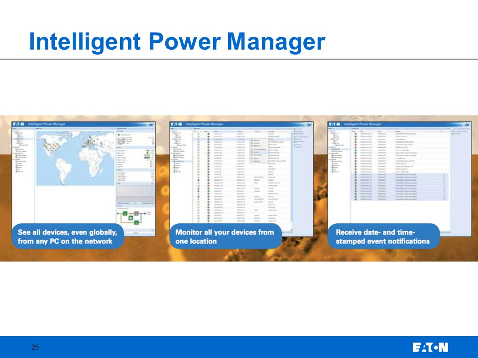 Intelligent Power Manager 25