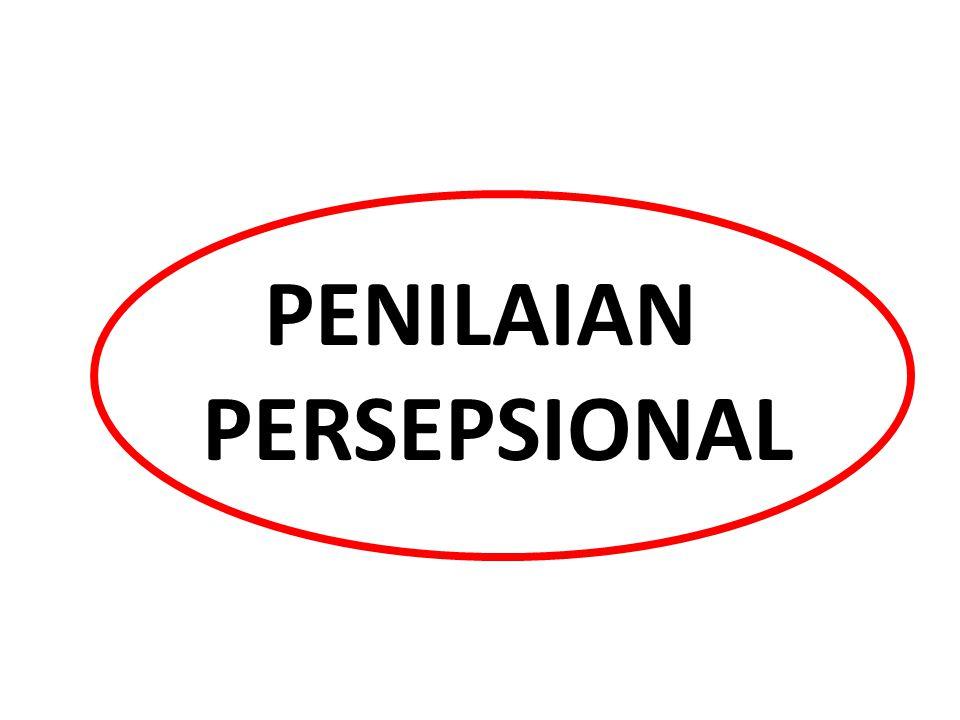 PENILAIAN PERSEPSIONAL